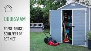 keter manor 6x5 outdoor garden storage shed du youtube