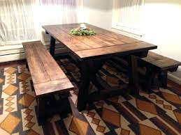 Trestle Farm Table Trestle Farm Table Plans Rubybland