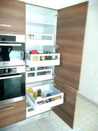 id rangement cuisine colonne cuisine rangement armoire cuisine sur mesure 3 colonnes de