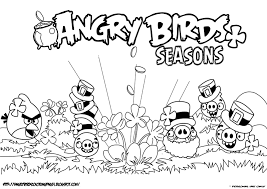 Angry Birds Free Coloring Pages Page