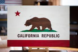 California Wood Flag Wooden Flags By Patriot