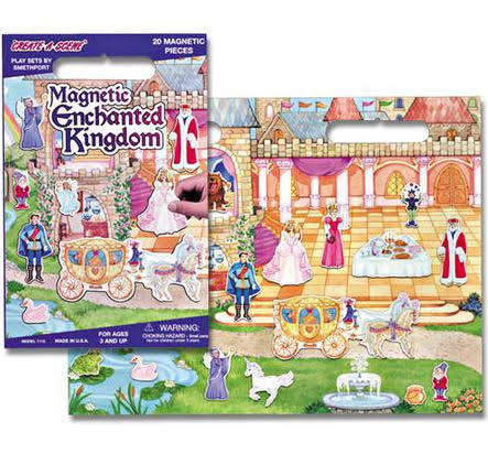 Magnetic Enchanted Kingdom Playboard