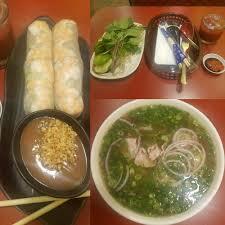 100 Saigon 8 Spring Rolls And 14 Pho W Round Steak And Tendon Yummy Yelp