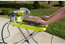 ryobi a113ts1 folding tile saw stand for ws720 and ws721 7in wet