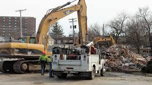 100 Demolition Truck Old Church On South Prospect Street Demolished