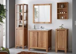 badmöbel set 5 tlg badezimmerset klassik eiche inkl waschtisch 80 cm