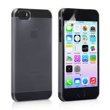 YouSave iPhone 5 5S Hard Case Clear Matte