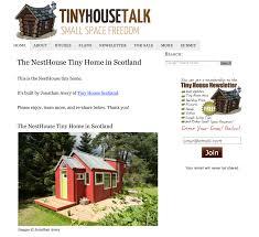 100 Tiny House Newsletter Talk Feature Scotland