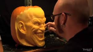 Pumpkin Carving Scary Faces Templates by Dc Comics Pumpkin Carving With The Joker Youtube