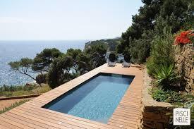 piscine semi enterrée piscinelle