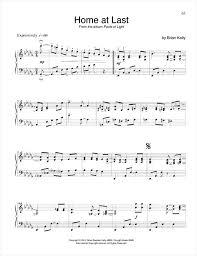 Solo Piano Sheet Music BRIAN KELLY free sheet music