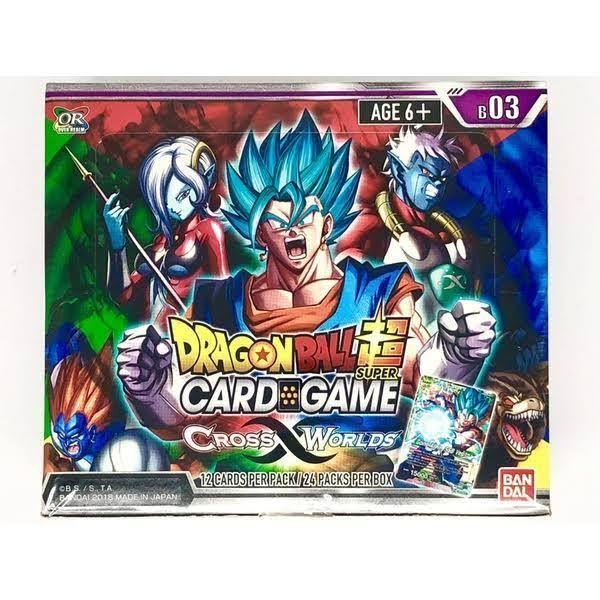 Dragon Ball Super Card Game: Cross Worlds Booster Box