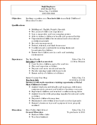 Teacher Resume Example Related Post