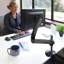Ergotron Lx Desk Mount Lcd Arm Amazon amazon com ergotech freedom arm metal gray fdm pc g01
