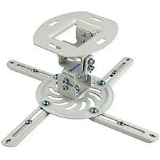 amazon com low profile projector mount finish white home audio