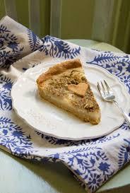 tarte amandine aux poires sans gluten vegan au vert avec lili