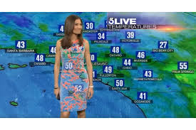 News Anchor Helps KTLA Weather Reporter After Green Screen Clothing