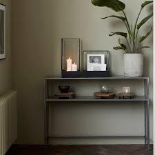 house doctor black antique vitrine plant showcase