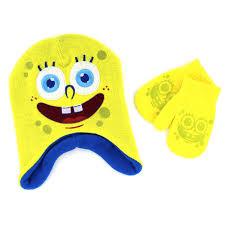 Spongebob Toddler Bedding by Amazon Com Disney Nickelodeon Boys Girls Hat And Mittens Set