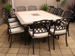 tile top patio table and chairs