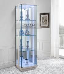 glass display cabinet with lights edgarpoe net