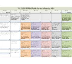 Documentary Film Production Schedule Template