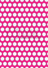 Free Scrapbook Paper Printable White Polka Dots On Fuchsia Background High Quality Download Templates Template Synonym