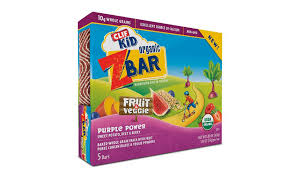 CLIF Kid Zbar Fruit Veggie Bars