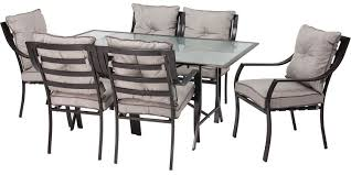 7 Piece Patio Dining Set by Hanover Lavallette 7 Piece Outdoor Set Lavallette7pc