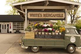Whites Mercantile Flower Truck