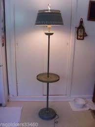 Traditional Floor Lamp With Attached Table Uk by Antique Floor Lamp Ebay