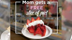Free Slice Strawberry Pie For Moms At Shoney s May 14 2017