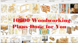 16000 woodworking plans made easy for diy youtube