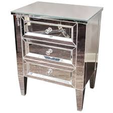 Pier One Mirrored Chest by Mirrored Night Stands Hayworth Mirrored Silver Nightstand Pier 1