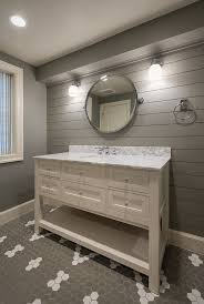 Install Shiplap And Paint It A Coordinating Color For Trendy Stylish Accent Wall