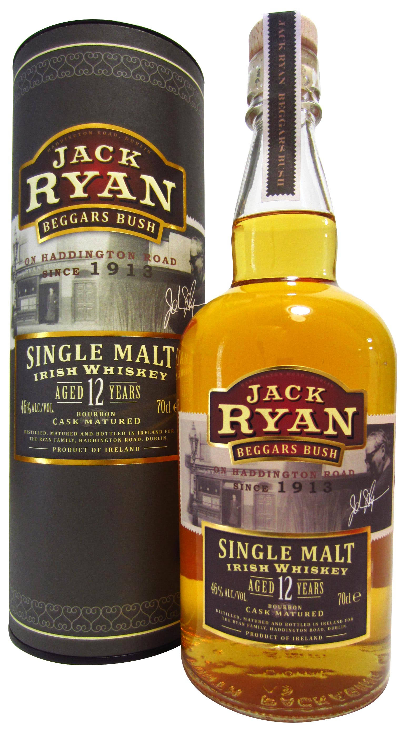 Jack Ryan Single Malt Irish Whiskey - 750ml