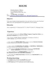 Electrician Apprentice Resume Lovely Examples Best Writing The Academic Paper From Of