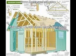 10 X 16 Shed Plans Free cool inspiration free storage building plans 10 x 16 13 shed vip