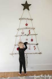 DIY Birch Branch Christmas Tree