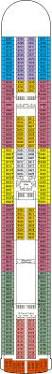Star Princess Deck Plan Pdf by Crown Princess Cruise Ship Deck Plans On Cruise Critic