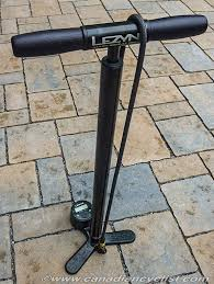 canadian cyclist review lezyne alloy digital drive floor pump