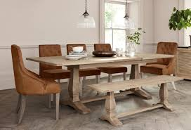 Table With Bench Seats Buy Hardwick 6 10 Seater Extending Dining From The Next Uk
