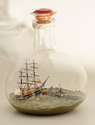 Hms Bounty Replica Sinking by Ship In A Bottle The Ramming And Sinking Of The Uss