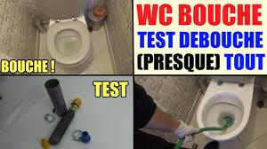 toilettes bouches que faire déboucher wc canalisation test débouche tout écologique lavabo