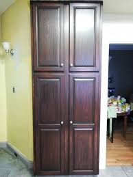 furniture nice free standing corner pantry cabinet with chic