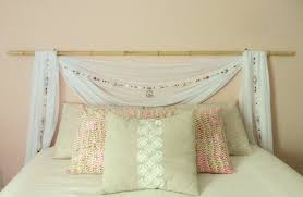 Bamboo Headboards For Beds by How To Create A Romantic Canopy Inspired U201cheadboard U201d U2013 The Decor Guru
