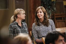 Christy Anna Faris Left And Bonnie Allison Janney Confront The Many Horrible Things About World In Mom Its Funny We Promise CBS