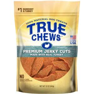 Tyson True Chews Premium Jerky Cuts Turkey Dog Treats 12oz