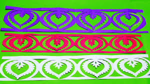 Paper Cutting BorderHow To Make Border Designs Easy Craft