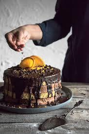 schokoladen orangentorte pastel de naranja freiknuspern